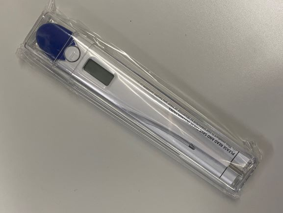 60-second thermometer san diego homecare supplies
